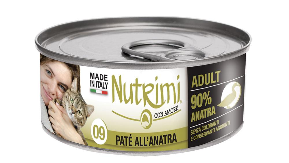 nutrimi cat 85g anatra adult