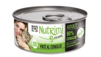 nutrimi cat 85g coniglio adult