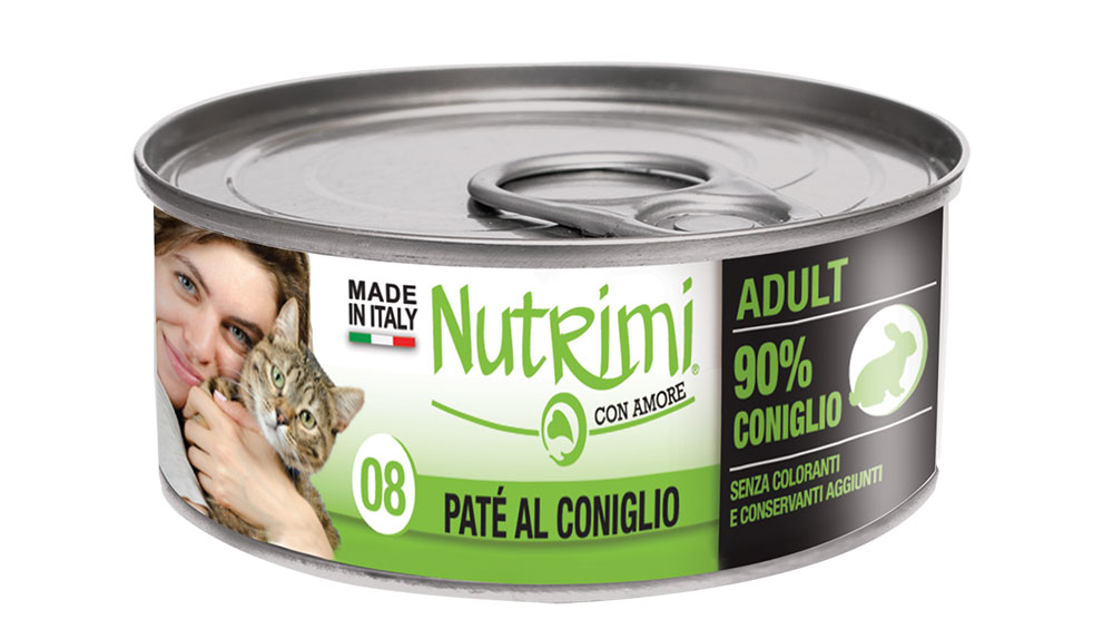 nutrimi cat 85g coniglio adult
