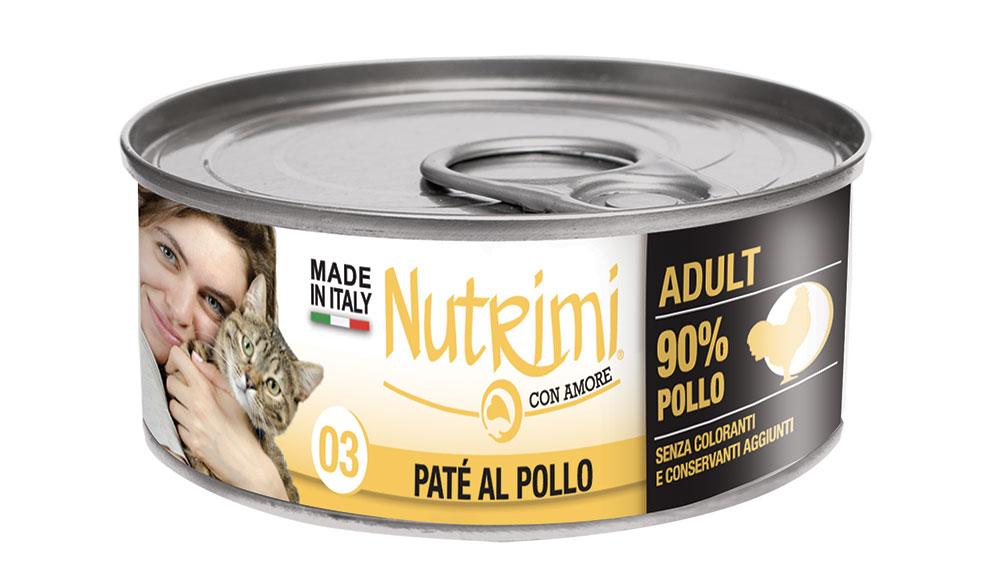 nutrimi cat 85g pollo adult