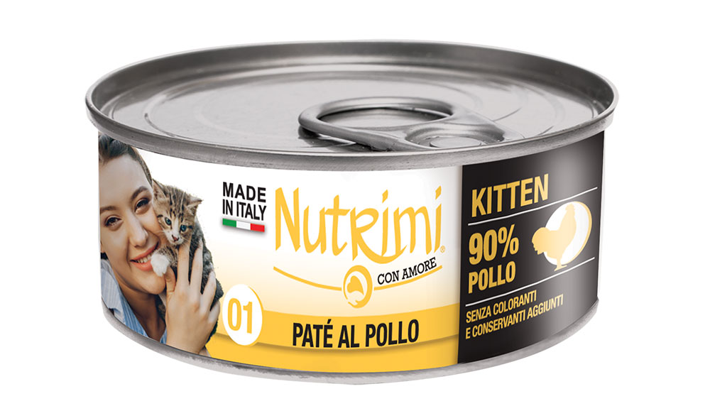 nutrimi cat 85g pollo kitten