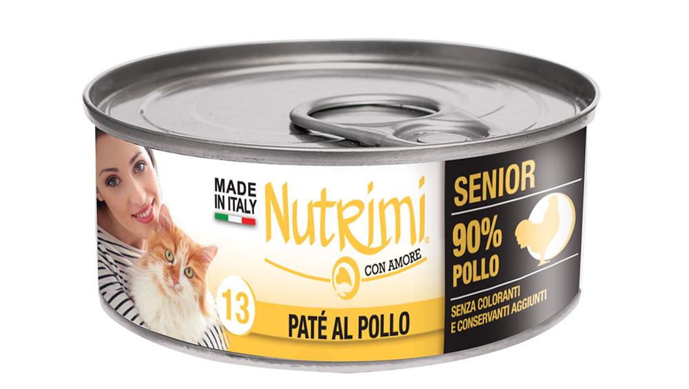 nutrimi cat 85g pollo senior
