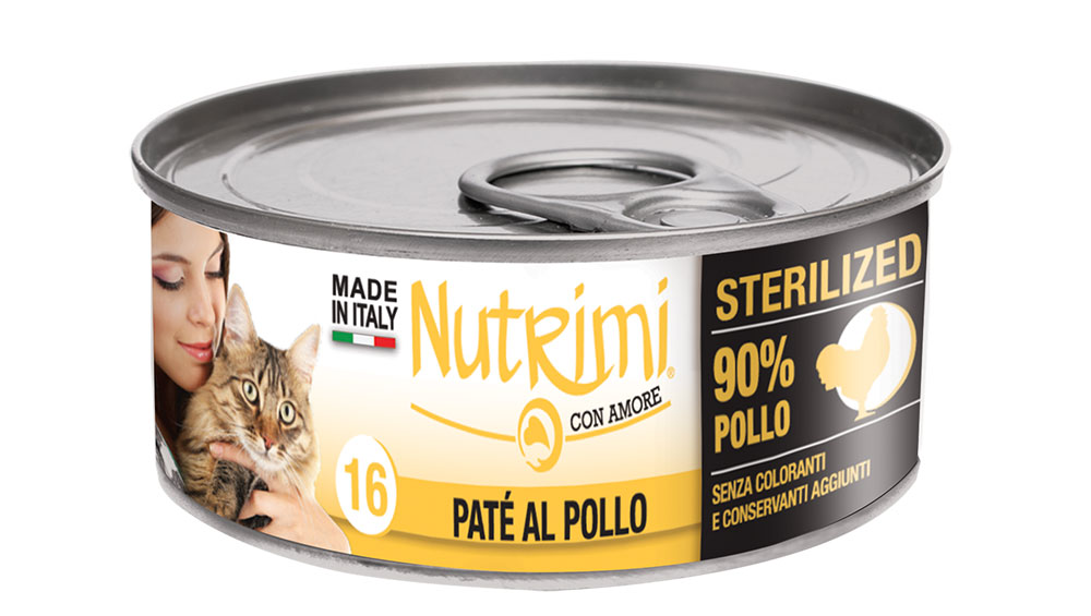 nutrimi cat 85g pollo sterilized