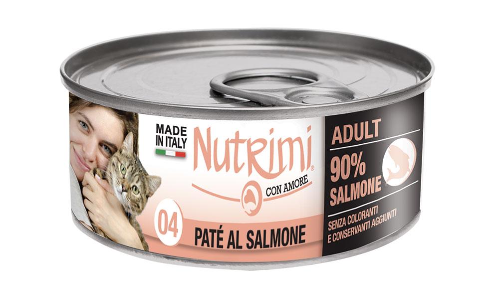 nutrimi cat 85g salmone adult